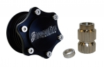 DragonFire Billet Schnellspannnabe inkl. Adapter für UTV,Arctic Cat,Can-Am Maverick,Commander