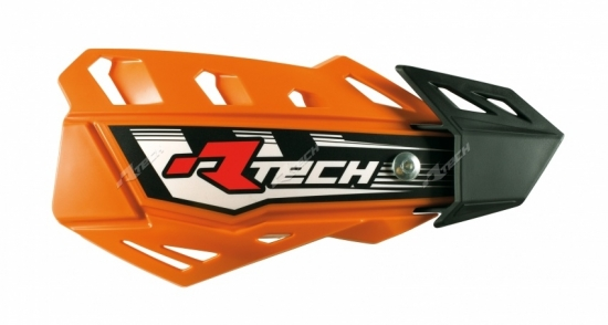 RaceTech Handprotektor verstellbar in drei Seitenpositionen in orange