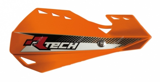 RaceTech Dual Handprotektor in orange