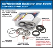 AllBalls Differnzial Lager/Dichtungs Kit vorne/hinten Differential Bearing and Seal Kit front/rear Passend f. siehe DropDown Auswahl
