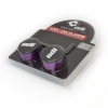 ODI LOCK Clamps with snap Caps purple