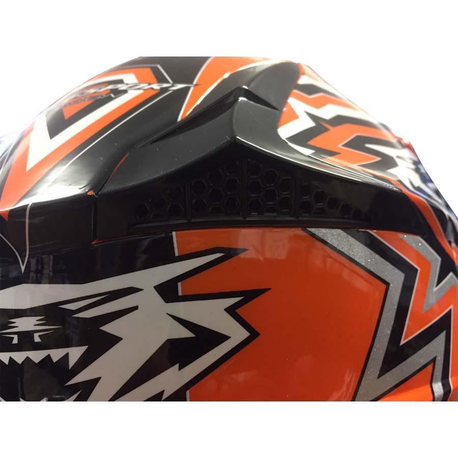 Kinder Cross Brille Helm Off Road XL 53-54 grün Motorrad Quad Bike MX BMX