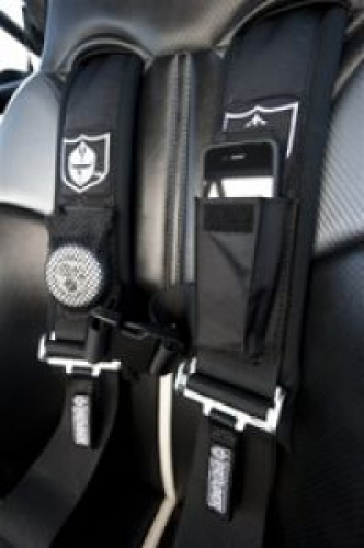 3 5PT SEAT BELT HARNESS W/LIGHT BLACK