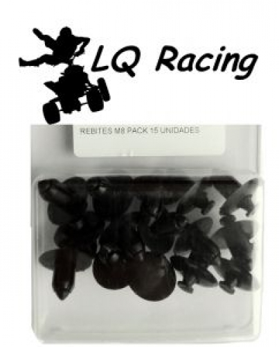 LQ Racing Verkleidungs- Clips M6