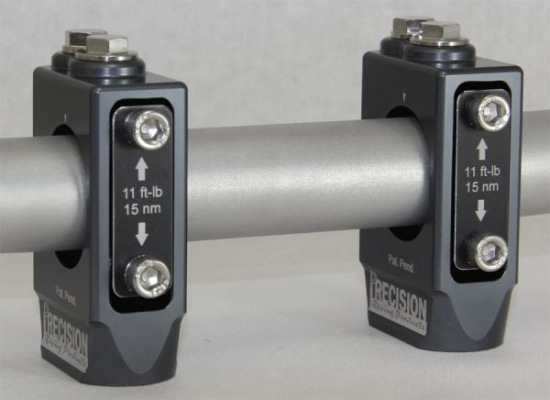 PRECISION Shock & Vibe Handlebar Clamping system (Made in USA) für Yamaha YFZ 450 07-09 mit 28,6mm Lenker Siehe Tabelle