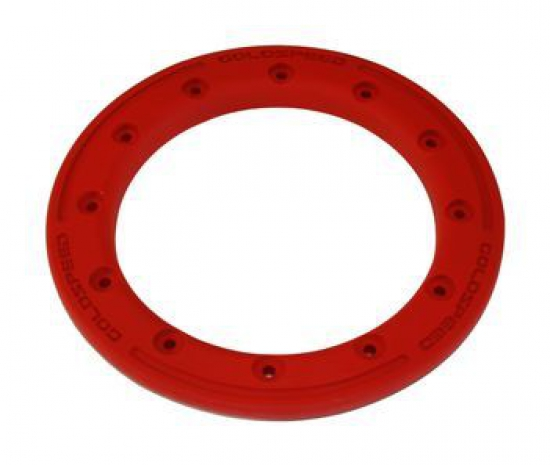 BEAD LOCK RING 8-INCH RED  POLYMER CARBON PC12