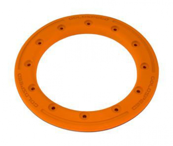 Goldspeed Kunststoff Polymer Carbon BEAD LOCK RING 9 Zoll Farbe Orange PC12