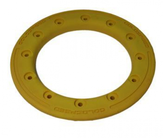 BEAD LOCK RING ALU 9-INCH YELLOW