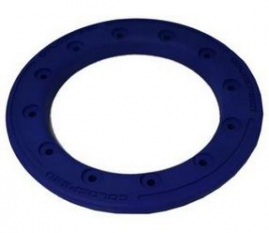 BEAD LOCK RING 10-INCH BLUE POLYMER CARBON PC12