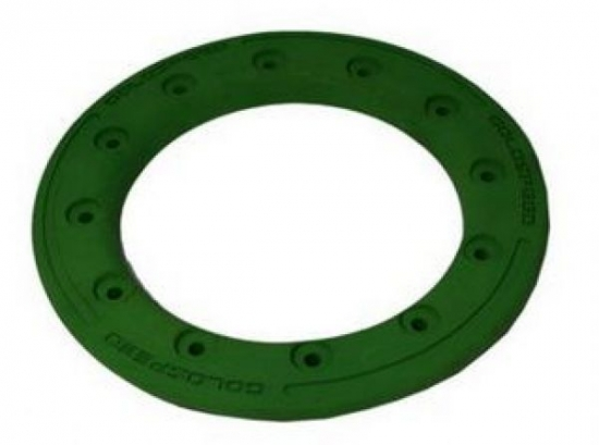 BEAD LOCK RING 10-INCH GREEN POLYMER CARBON PC12