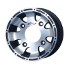 LQ Racing Felge MACHINED DARK BLACK  10x5,5 ( 5,5x10 ) 4x156 3,75+1,75