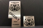 LQ Racing Warnschilder Ersatz f. Yamaha Grizzly 700 -13